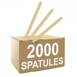 Spatule Distributeur Automatique en Bois Biodégradable 105 mm - par 2000