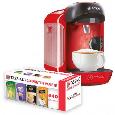 Machine Tassimo Vivy Rouge Vif : Bosch TAS1253