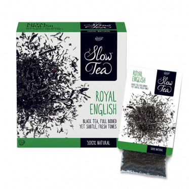 Thé Noir Royal English - Slow Tea - 25 sachets