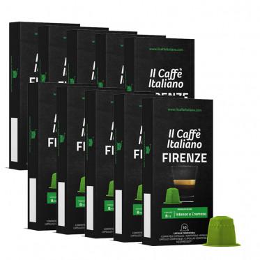 Capsule Nespresso Compatible café Il Caffe Italiano - Firenze - 100 capsules