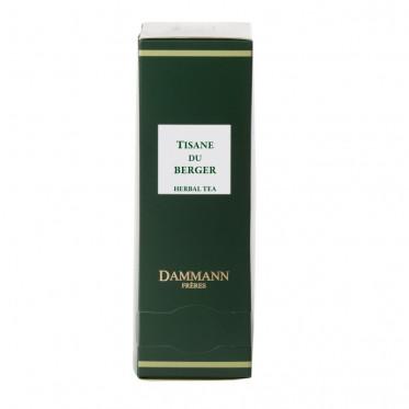 Thé Dammann Frères - Tisane du Berger - 24 sachets Cristal