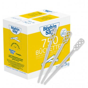 Bûchettes de sucre blanc Béghin-Say - 600 buchettes - 2,4 kg