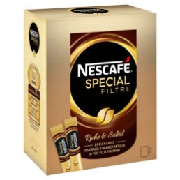 Café Soluble Nescafé Sélection - 25 sticks de 2 gr