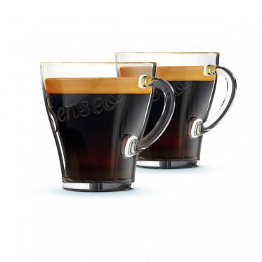 Tasse en verre Senseo : Espresso 18 cl - 4 tasses