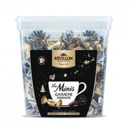 Chocolat café - Tubo Les minis - Ganache fondante chocolat noir - 1,2 Kg