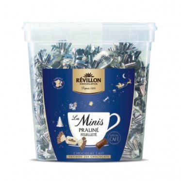 Chocolat café - Tubo Les minis - Praliné feuilleté chocolat au lait - 1,2 Kg