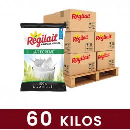 Poudre Lait Ecrémé Régilait pour distributeur automatique - 60 Kg