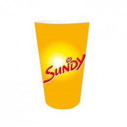 Gobelet réutilisable 15 cl - Modèle Nestlé Sundy - par 5