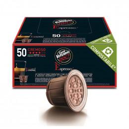 Capsules compostable Nespresso compatible - Caffe Vergnano - Arabica - 50 capsules