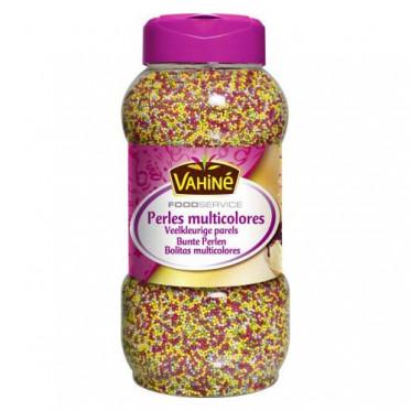 Topping Perles de confiserie multicolores - Vahiné Food Service - 820g