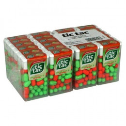 Tic Tac Citron vert et Orange - 24 boites
