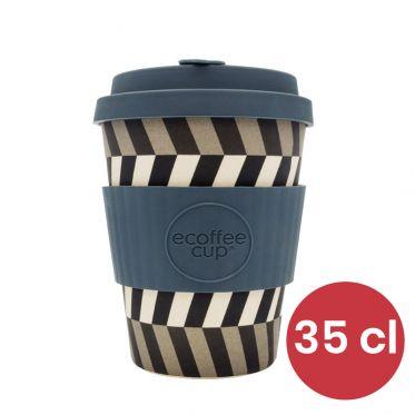 Mug en Bambou écologique, avec couvercle - Ecoffee Cup Look into my Eyes - 35 cl