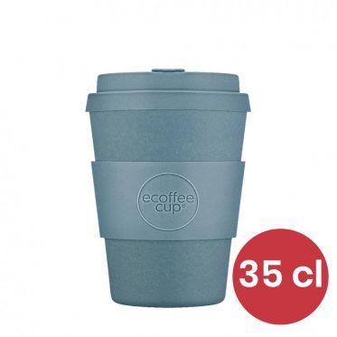 Mug en Bambou écologique, avec couvercle - Ecoffee Cup Gray Goo - 35 cl