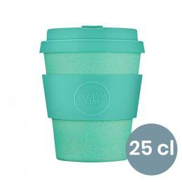 Mug en Bambou écologique, avec couvercle - Ecoffee Cup Inca- 25 cl