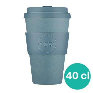 Mug en Bambou écologique, avec couvercle - Ecoffee Gray Goo - 40 cl