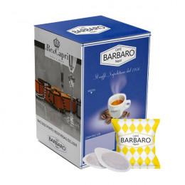 Dosette ESE café Barbaro Napoli - Arabica - 100 pods