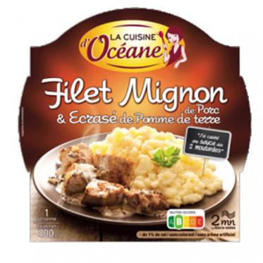 Filet Mignon de Porc & Ecrasé de Pomme de terre + Fourchette