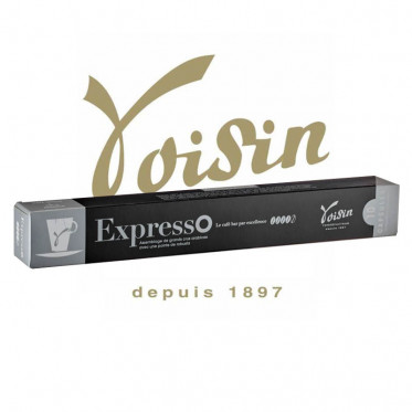 Capsules Nespresso Compatibles - Voisin - Expresso - 1 tube - 10 capsules