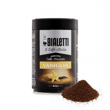 Café Moulu Bialetti - Café vanille - Boite hermétique - 250 gr