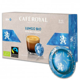 Capsule Nespresso PRO Compatible Café Royal Office Pads - Lungo BIO - 50 capsules