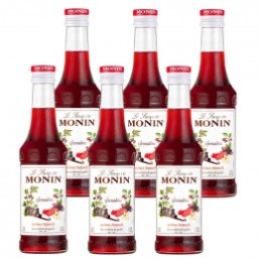 Sirop Monin - Saveur Grenadine 25cl
