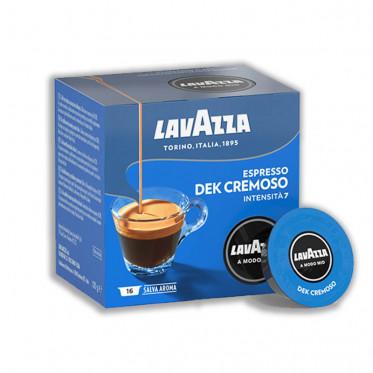Capsules Lavazza a Modo Mio - Décaféiné Espresso Dek Cremoso - 16 capsules
