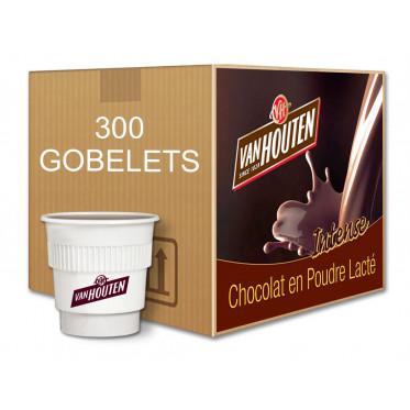 au Carton Van Houten Chocolat Chaud Lacté + Spatules