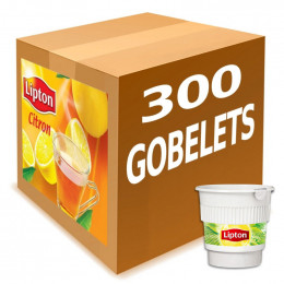 Gobelets Pré-dosés au carton Thé Citron Lipton : 300 boissons