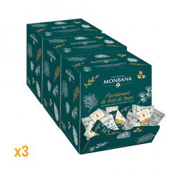 Boîte distributrice : La hotte de Noël Monbana - 300 pièces