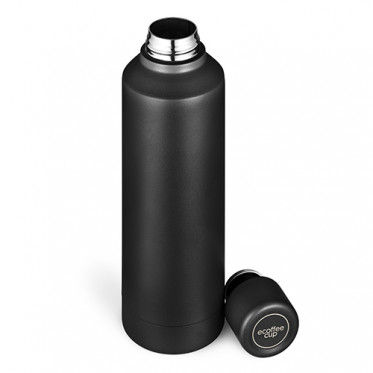 Gourde Isotherme 0.5L Ecoffee Cup - Noire