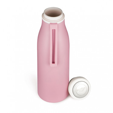 Gourde Isotherme 0.5L Ecoffee Cup - Rose