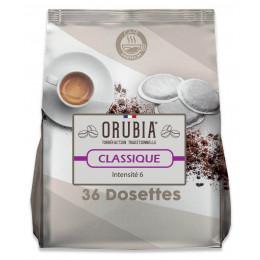 Dosette souple Orubia Classique – 1paquet – 36 pads