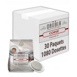 Dosette souple Orubia Corsé – 30 paquets – 1080 pads
