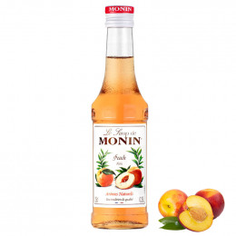 Sirop Monin - Saveur Peche 25cl