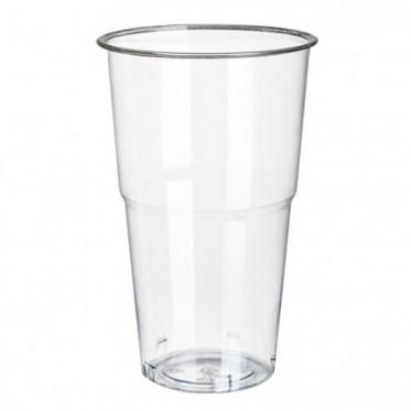 Gobelet verre Transparent PLA Compostable 22 cl - par 25