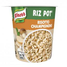 Repas Express Knorr Le Riz Pot Risotto Champignons - 75 gr