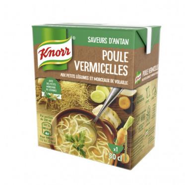Repas Express Knorr Soupe Poule Vermicelles - 30 cl