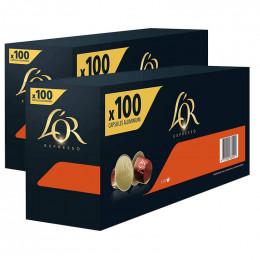 Capsule Nespresso Compatibles L'Or Espresso Delizioso - 10 boîtes - 200 capsules