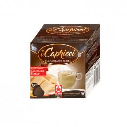 Capsules Nespresso compatible Bonini Chocolat Blanc - 10 capsules