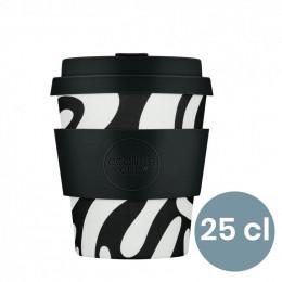 Mug en Bambou écologique, avec couvercle - Ecoffee Cup Red Dawn- 25 cl
