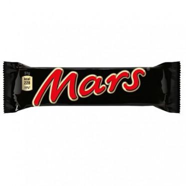 Barre Chocolatée : Mars - à l'unité