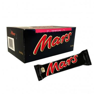 Barre Chocolatée en Gros : Mars - boite de 32 barres