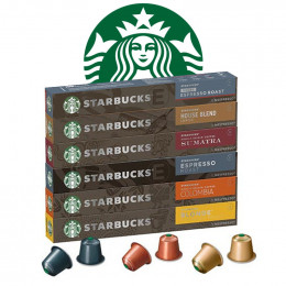 Pack découverte capsule Starbucks ® by Nespresso ® - 1 tube - 10 capsules