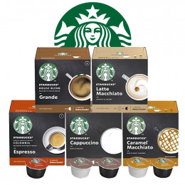 Pack Découverte capsule Starbucks ® by Dolce Gusto ® - 42 boissons
