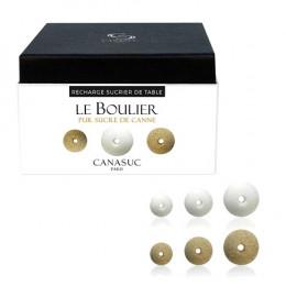 """Sucre Canasuc recharge sucrier """"Le Boulier"""" - 114 sucres"""