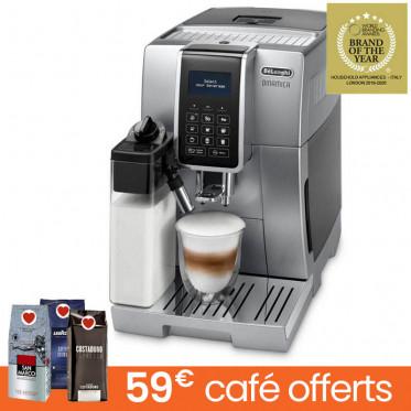 Machine à café en grains DeLonghi Dinamica FEB 3575.S - Silver