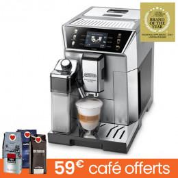 Machine à café en grains Delonghi PrimaDonna Class ECAM 550.85.SB - 150€ REMBOURSÉS