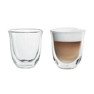 Tasse en verre double paroi Delonghi Cappuccino 19 cl - par 2