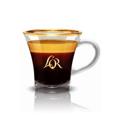 Tasse en verre double paroi L'Or Espresso 7 cl - par 2