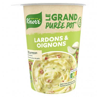 Repas Express Knorr Le Grand Purée Lardons Oignons - 76 gr